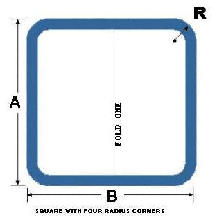 Square with Radius Corners